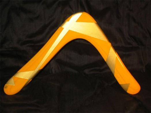Bandit Crane - Orange and Gold